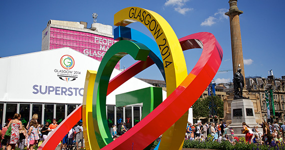 The Commonwealth Games in Glasgow